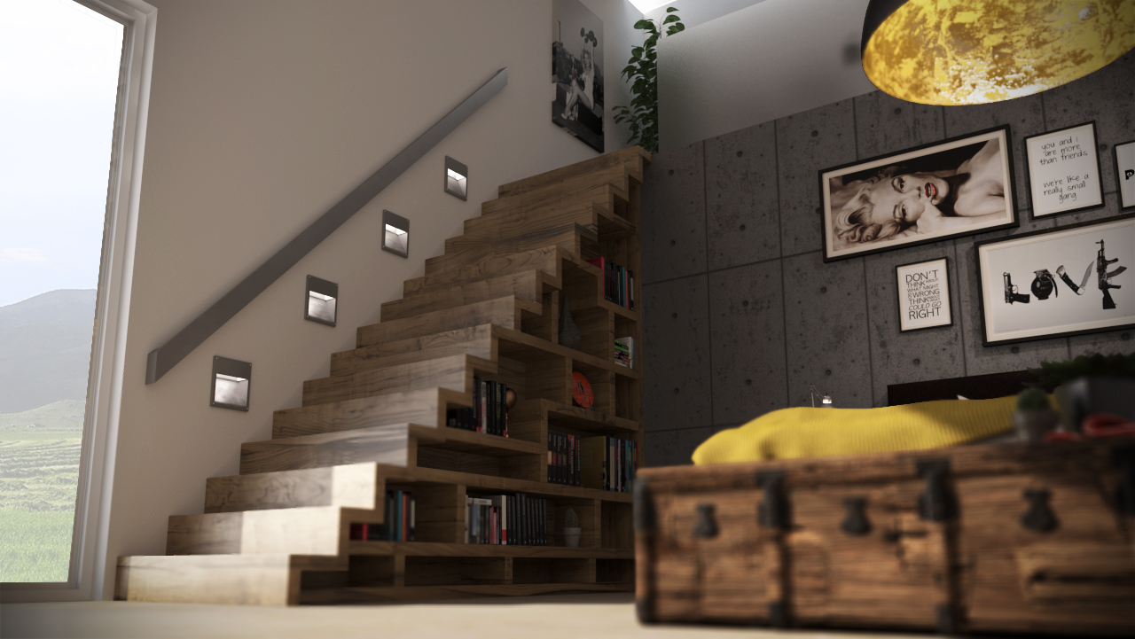 3D VISUALISATIE INTERIEUR SLAAPKAMER - Wisp Design - High-end ...