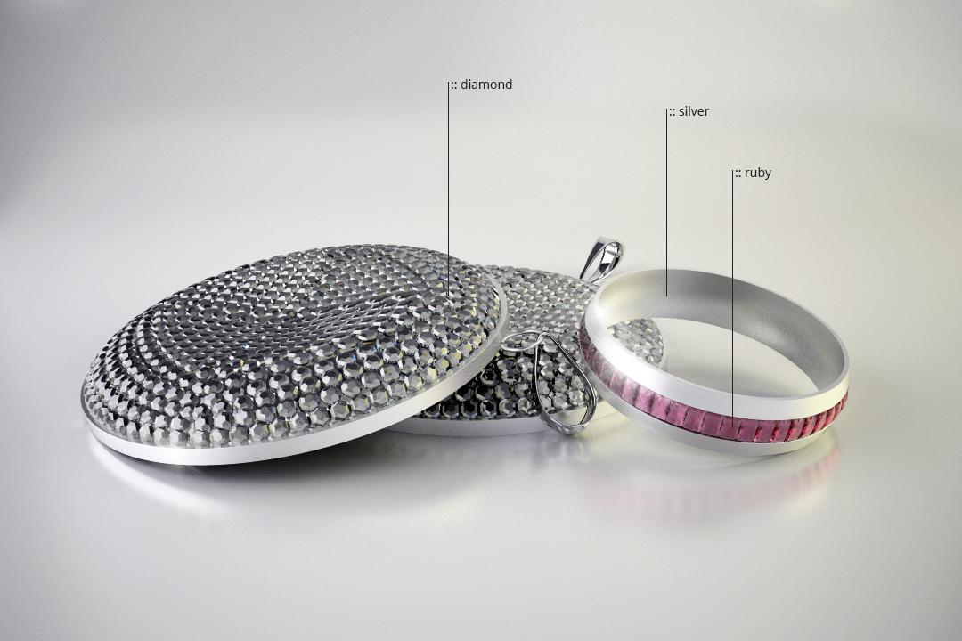 3D PRODUCT VISUALISATIE SIERADEN