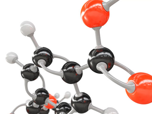 3D Animatie Polyester Moleculen